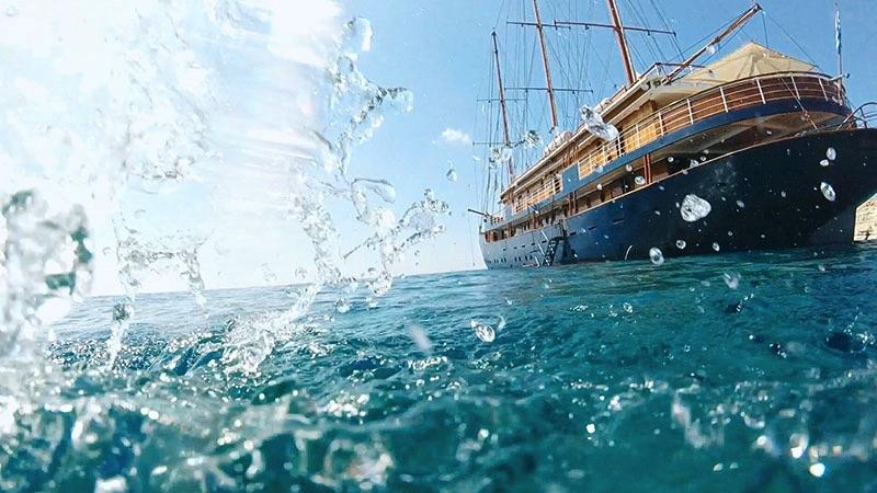 Segelkreuzfahrt/ Griechenland